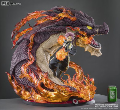 Natsu Dragneel HQS+ 1/4 de Fairy Tail - Tsume Art