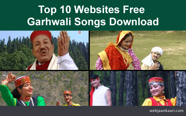 How To_Websites Free  Garhwali  Mp3 Songs Download