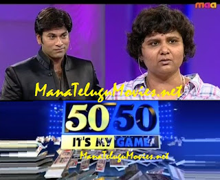 Omkar's 50-50 Game Show-E 1 -18th May with Nandini Reddy