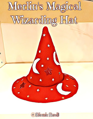 Crafting with Cats @BionicBasil® Wizard Hat