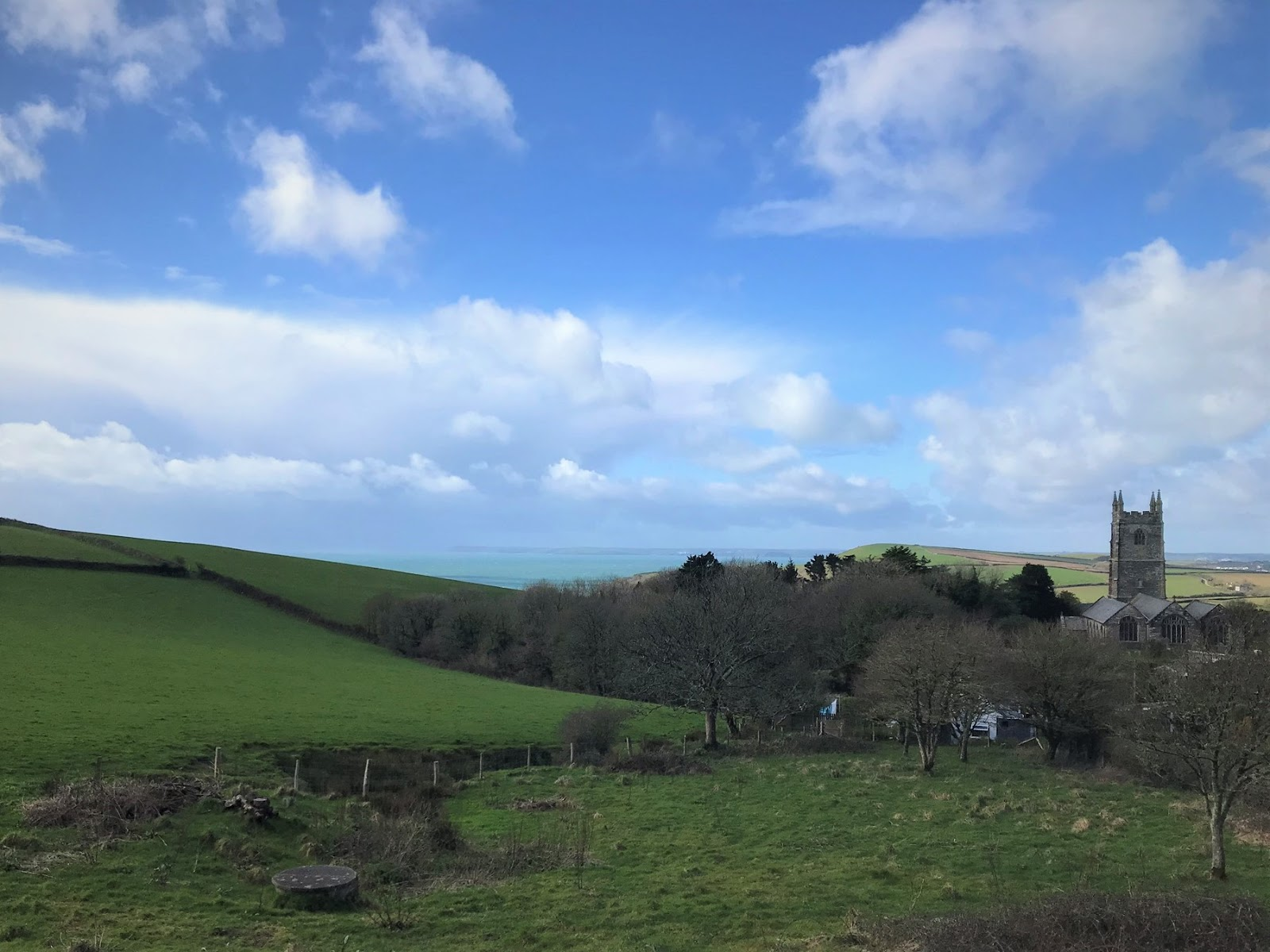 National Trusr holiday cottage, Cornwall