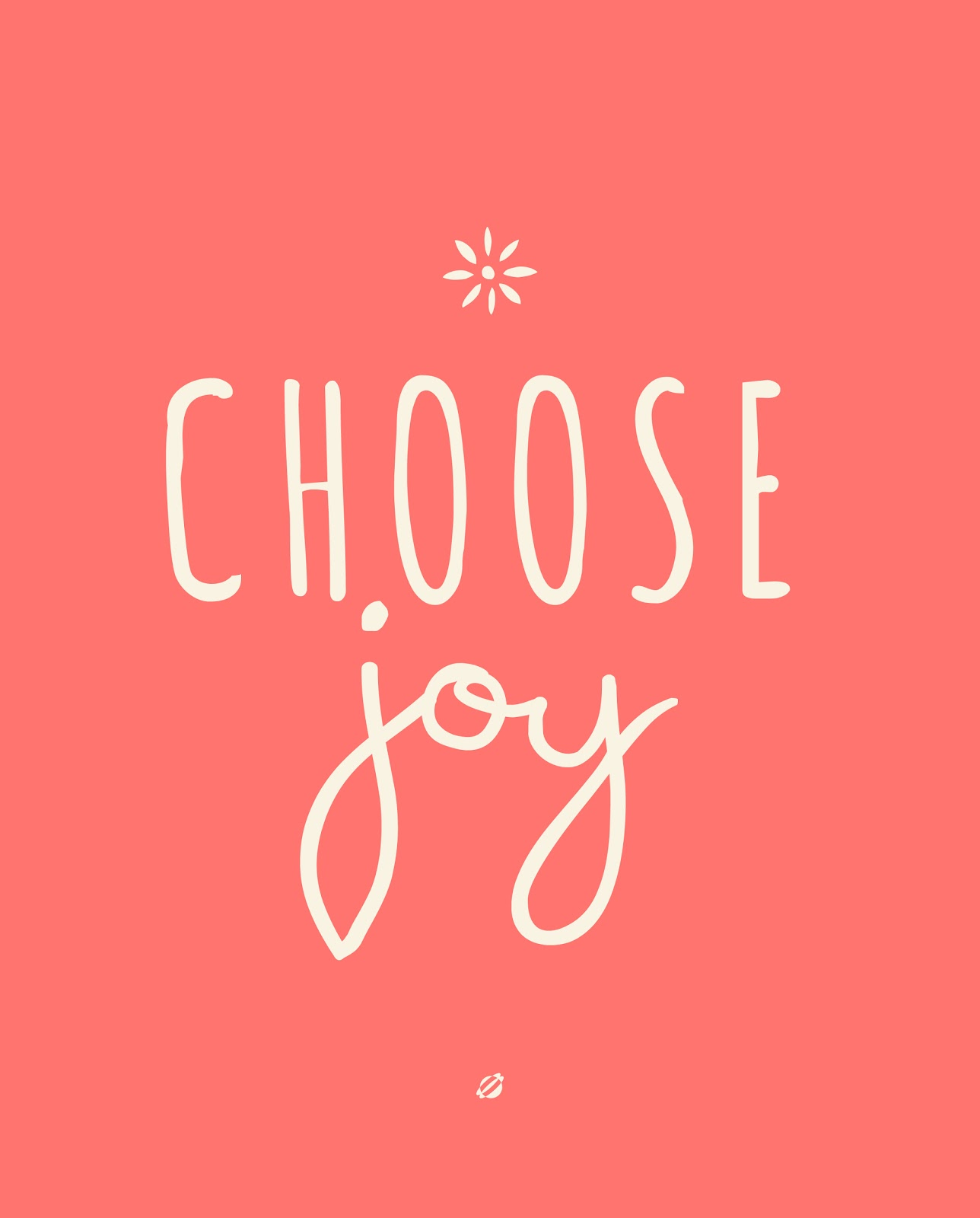 LostBumblebee: What Are You Going To Do? Choose Joy.