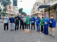 GNI Kota Medan, Pemuda dan Mahasiswa Bagikan Masker dan Hand Sanitizer Terhadap Masyarakat Kota Medan