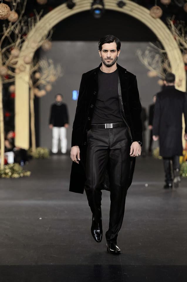 Pakistani menswear brand EXIST at Pakistan Fashion Design Council Fashion Week 2013