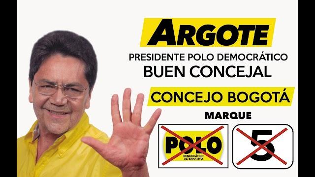 El Polo informa apertura de investigación por Comisión Nacional de Ética a su presidente y concejal Álvaro Argote