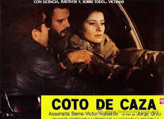 Cartel: Coto de caza (1983) Cazadores nocturnos
