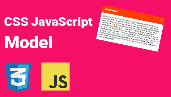 Create Model Using CSS & JavaScript
