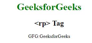 penggunaan tag rp pada html 5