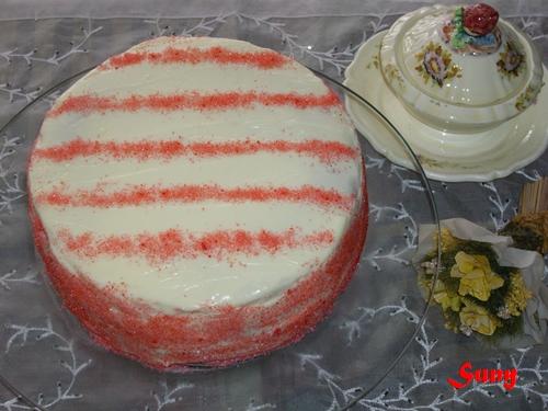 Red Vekvet Cake - Tarta de Terciopelo Rojo