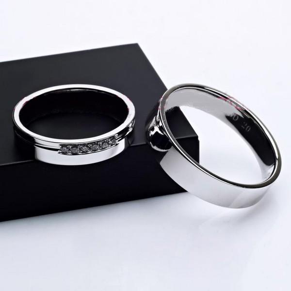 Nhẫn đôi nhẫn cặp BND453A