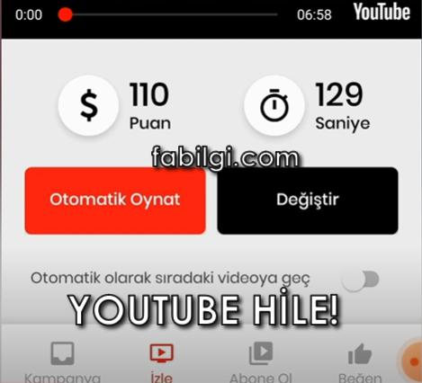 Youtube ytLove Uygulaması Abone, İzlenme Hilesi Bedava 2021