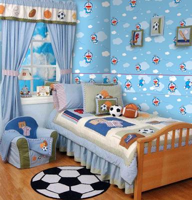 Dapatkan Inspirasi Untuk Dekorasi Kamar Doraemon Yang ...