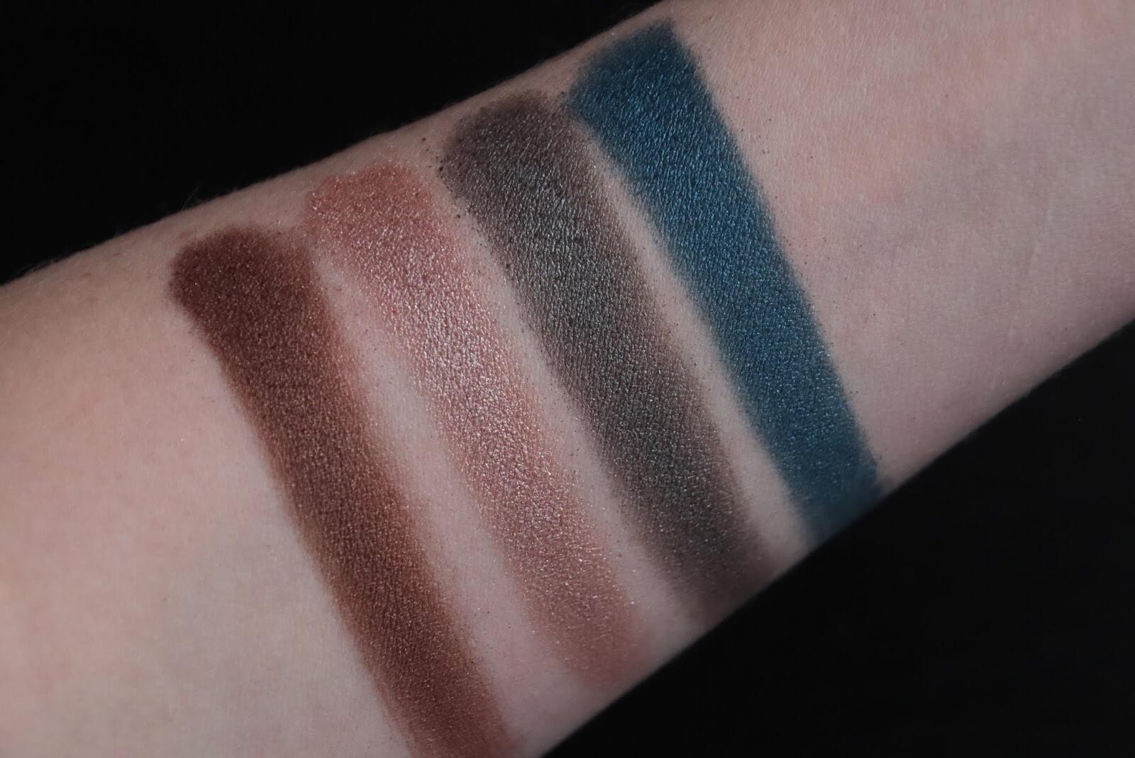 Laduree Les Merveilleuses Maquillage  Palette Yeux Swatch