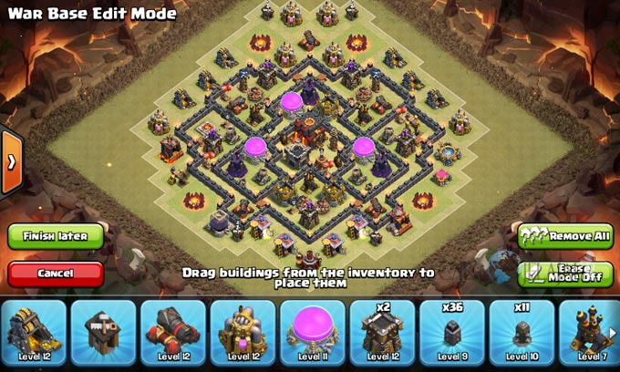 Susunan Formasi Base War TH 8 Update Terbaru 7
