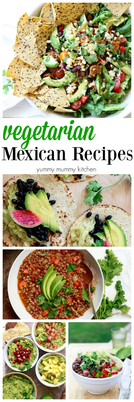 Mexican recipes easy vegetarian