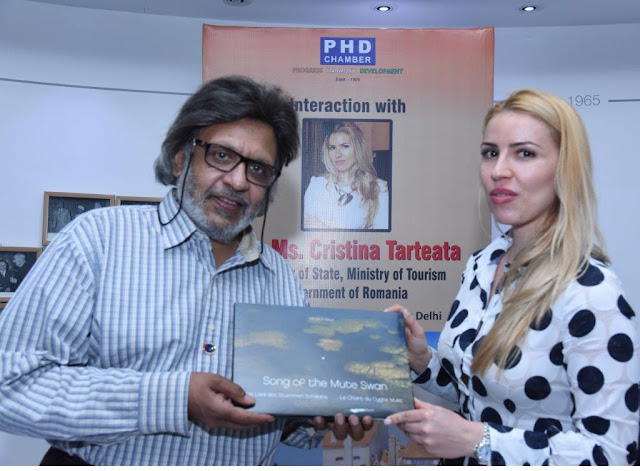 ROMANIAN SECRETARY OF STATE MINISTRY OF TOURISM VISITED PHD CHAMBER