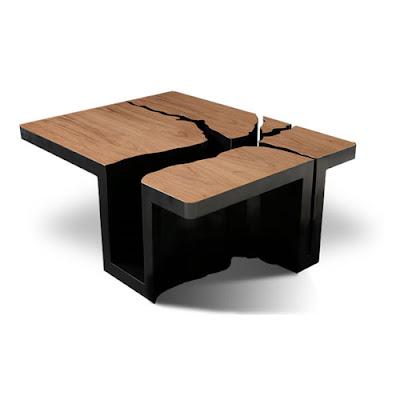 Mesa cafetera estilo arbol