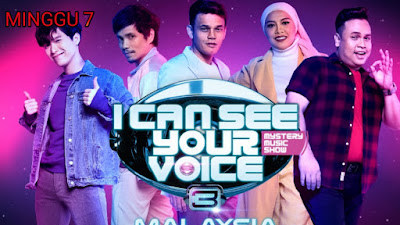 Live Streaming I Can See Your Voice Malaysia 2020 Minggu 7