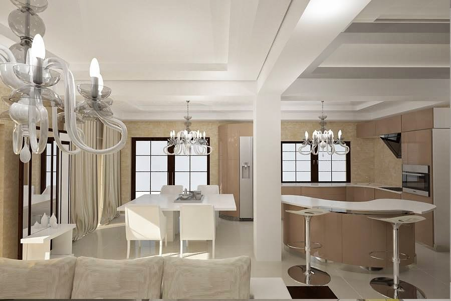 Design interior living vila moderna Constanta - Arhitect designer interior Constanta.