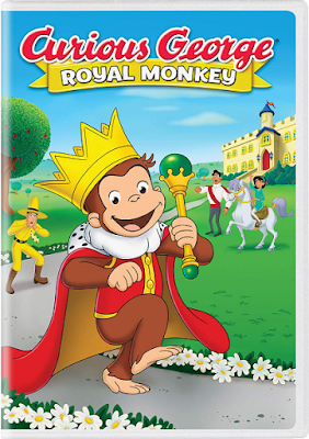 Curious George Royal Monkey [2019] [DVD R1] [Latino]