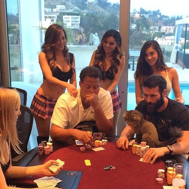 Dan Bilzerian poker skills. BillionaireGambler.com