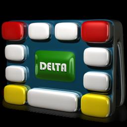 pacote com  Delta icons