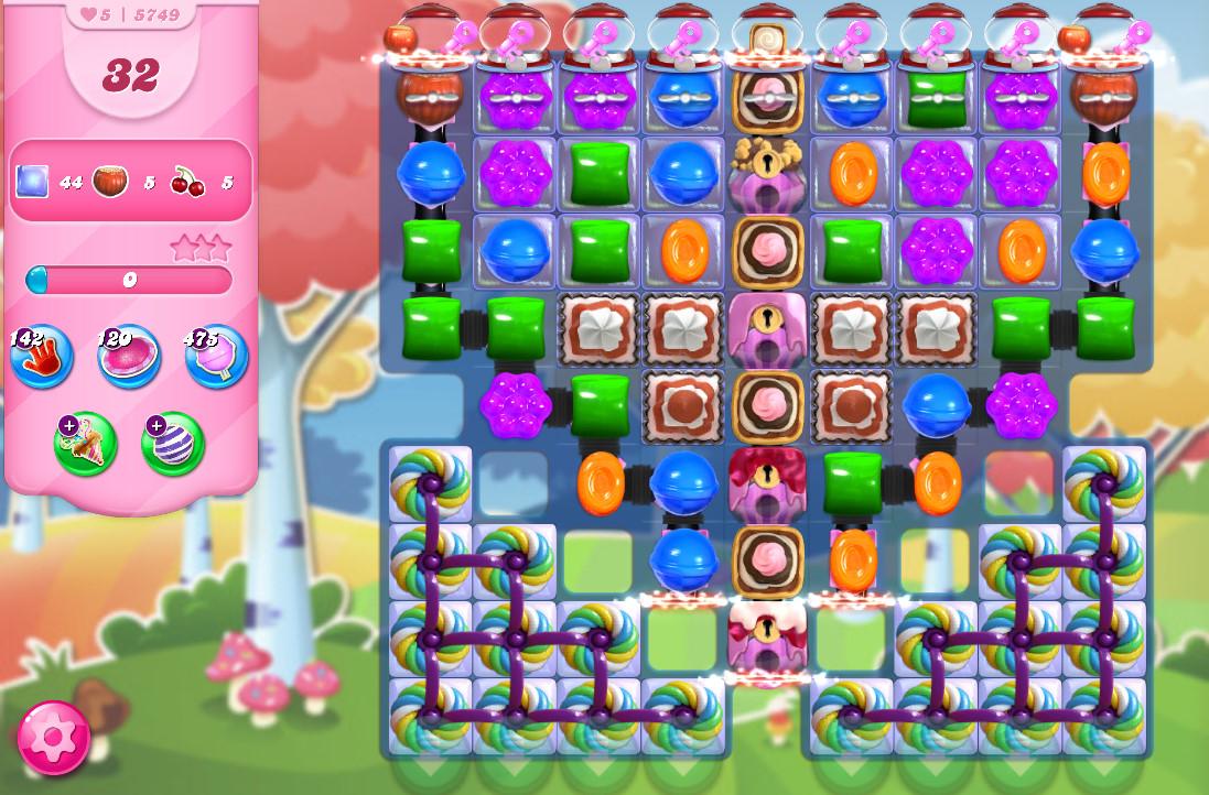 Candy Crush Saga level 5749