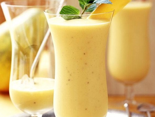 Papaya Banana Smoothie Recipe