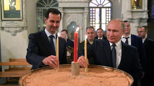 """Άσαντ και Πούτιν σχεδιάζουν να χτίσουν """"μίνι Αγιά Σοφιά"""" στην Συρία"""