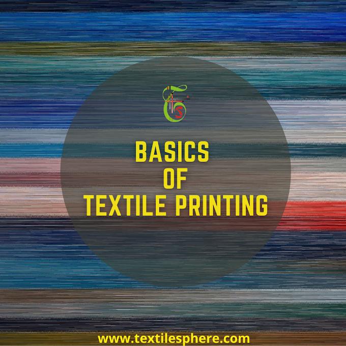 Textile- Printing Basics