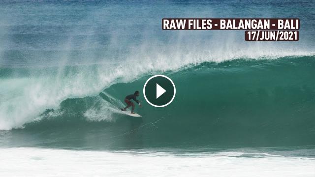 Is this the fastest Wave on Bali - Balangan - RAWFILES - 17 JUN 2021 4k