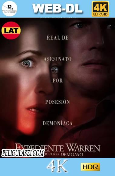El Conjuro 3 El diablo me Obligó a Hacerlo (2021) Ultra HD WEB-DL 4K HDR Dual-Latino VIP