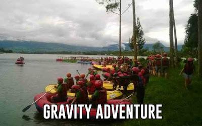 rafting di cikole bandung