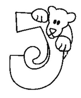 Abecedario De Animales Letra J 4 Dibujo