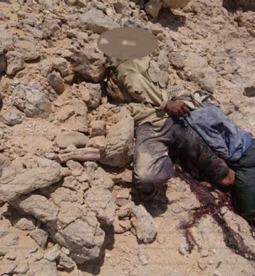معلومات مهمة عن الارهابي عيد حسين الذي قتله زملاؤه بعد ارشاده عن خلية قنا