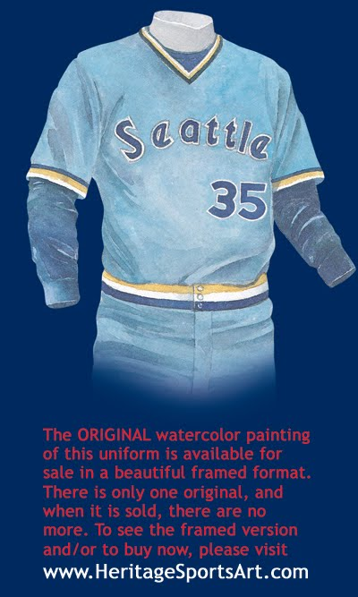 separation shoes 057a2 f68a7 Seattle Mariners Uniform and Team History   Heritage ...