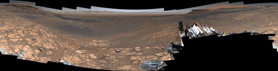 صورة ناسا بدون تعديل البانورما نسخ أفصل وأقرب من الصور نفسها فى التعليقات