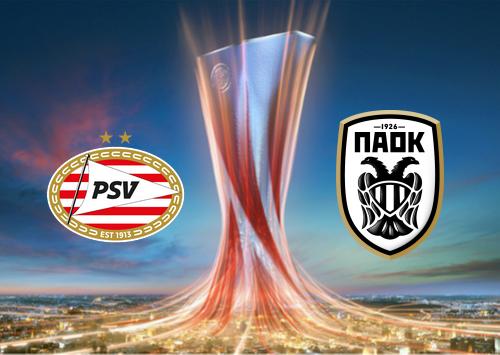 PSV vs PAOK -Highlights 26 November 2020