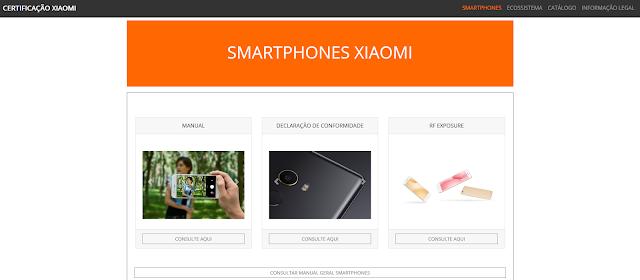 Manuais em Português de Produtos Xiaomi