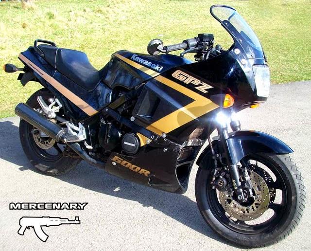 1989 Kawasaki GPZ 600R