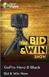 Flipkart bid and win 19 august