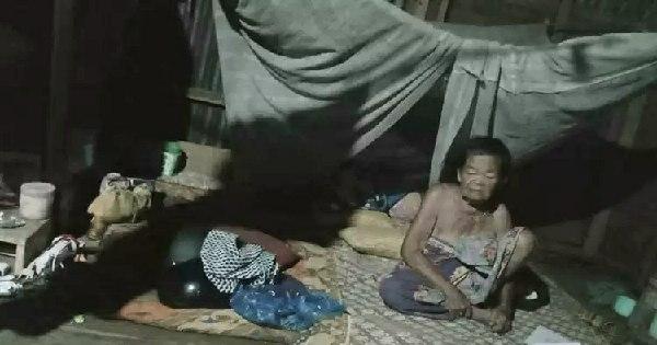 Sedih, Nenek Yuli di Mamuju ini, Dilupakan Anak dan Hidup Tanpa Bantuan