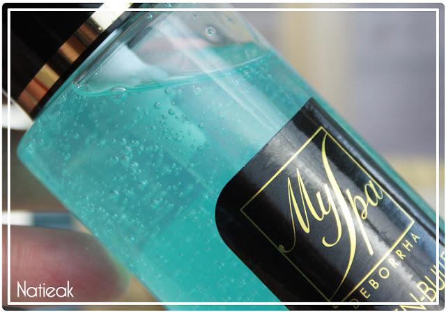 bulles en suspension gelée nettoyante MySpa