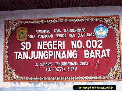 SD Negeri 002 Tanjung Pinang Barat