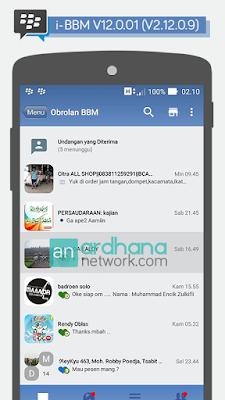 Preview BBM iOS 6 New V2.12.0.9