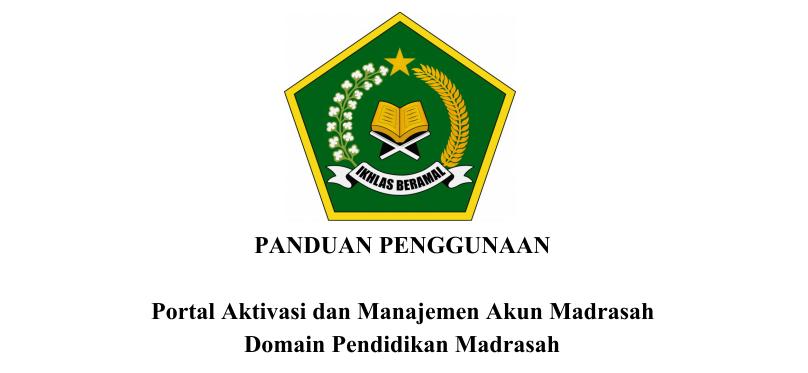 Juknis Panduan Aktivasi Akun Google Suite Madrasah