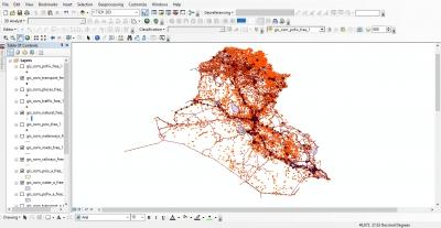 تحميل خرائط العراق الرقمية Open Street Map