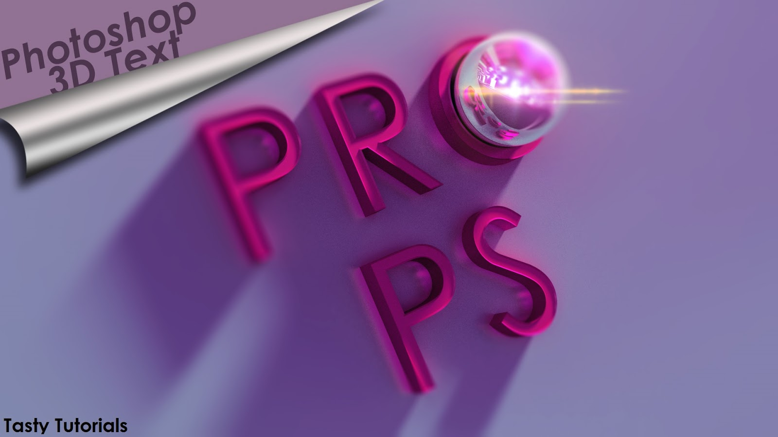 Photoshop cs6 3d text tutorial pdf