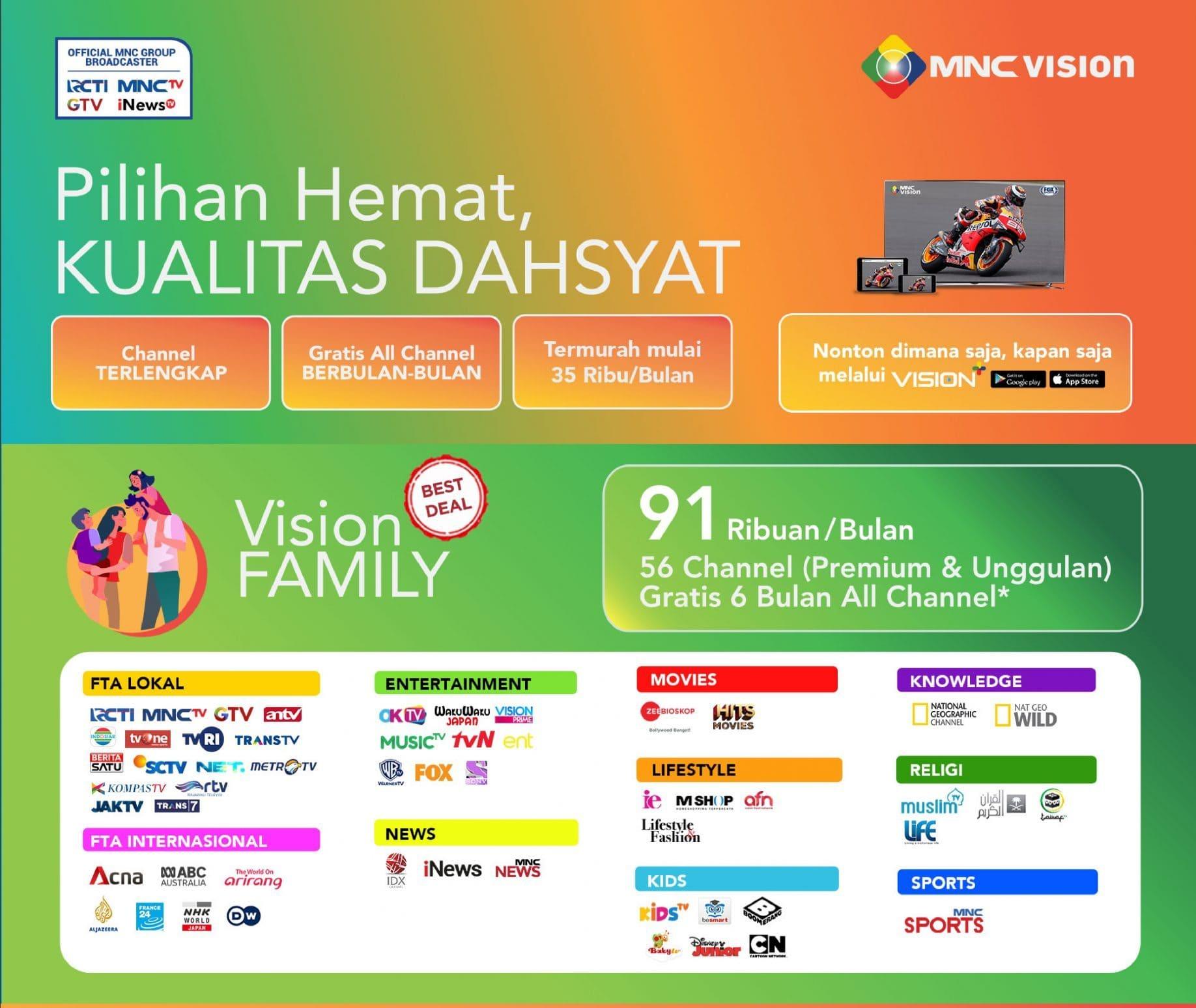 Paket Vision Family