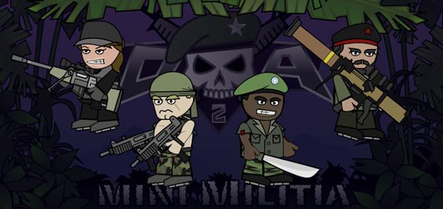 mini militia guns list
